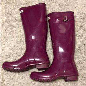 Hunter Boots Tall EUC